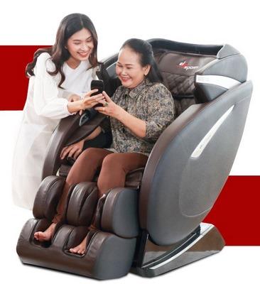 ghế massage trị đau lưng